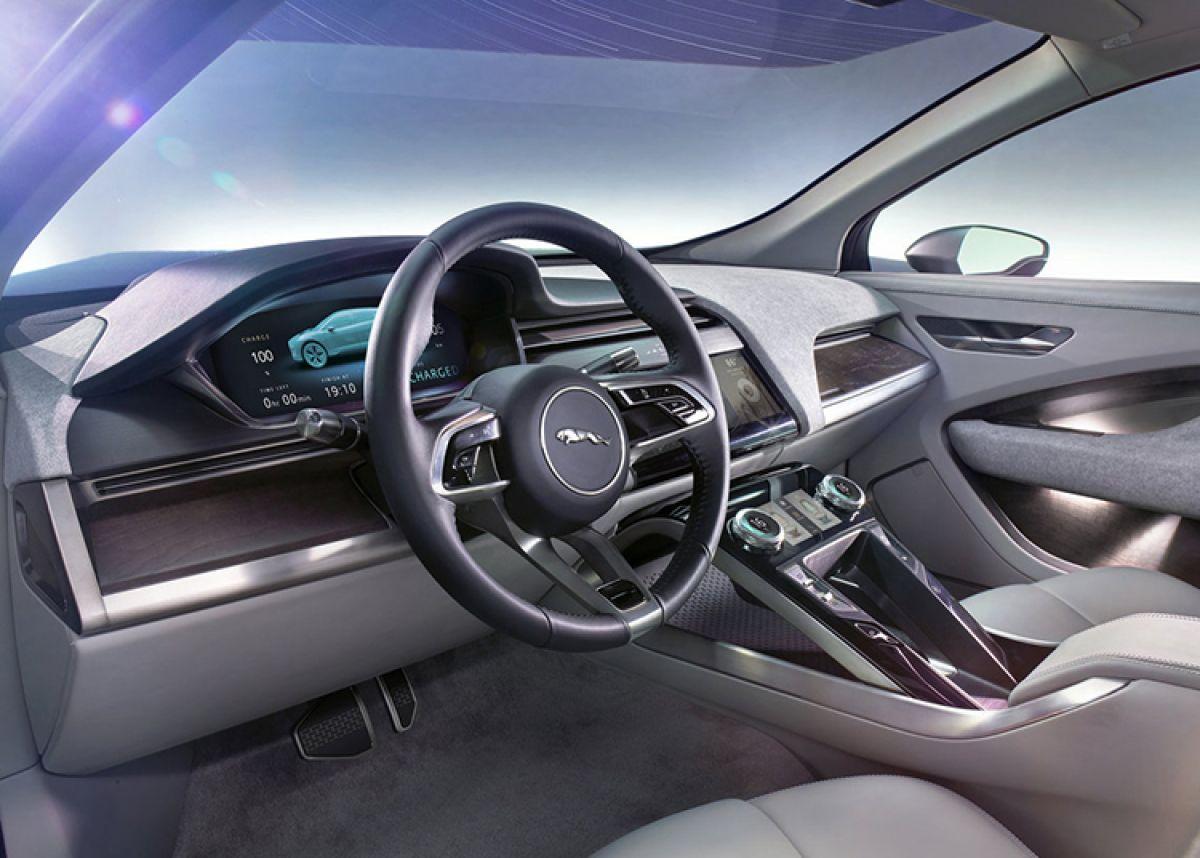 Share The Jaguar I Pace Concept Previews A Production Car