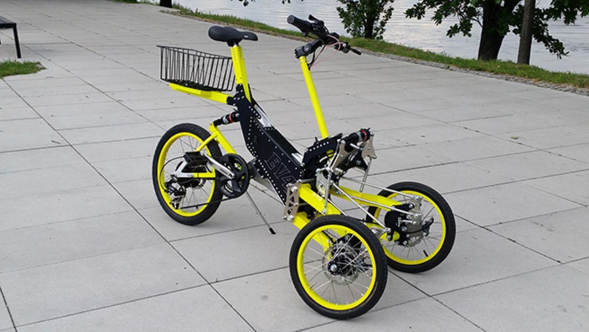 EV4 Bike a new concept of   New   Prestige Electric Car