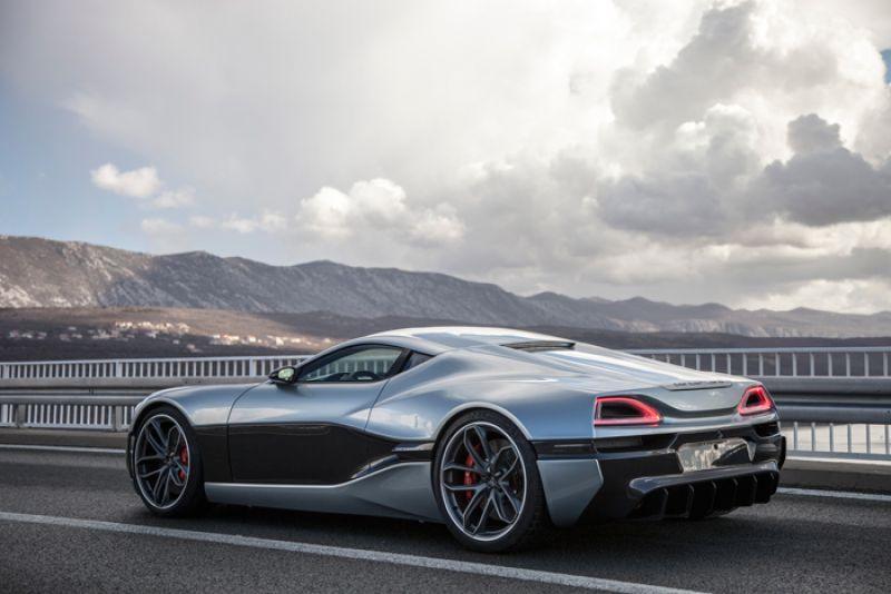 Rimac presents Concept One hypercar at Geneva