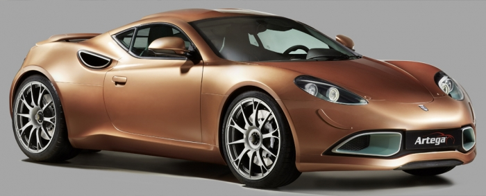 Artega is back, with electric engine