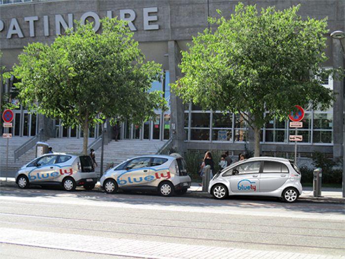 Más VE para Carsharing en Francia