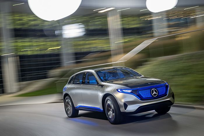 World Premier of the Mercedes EQ Electric