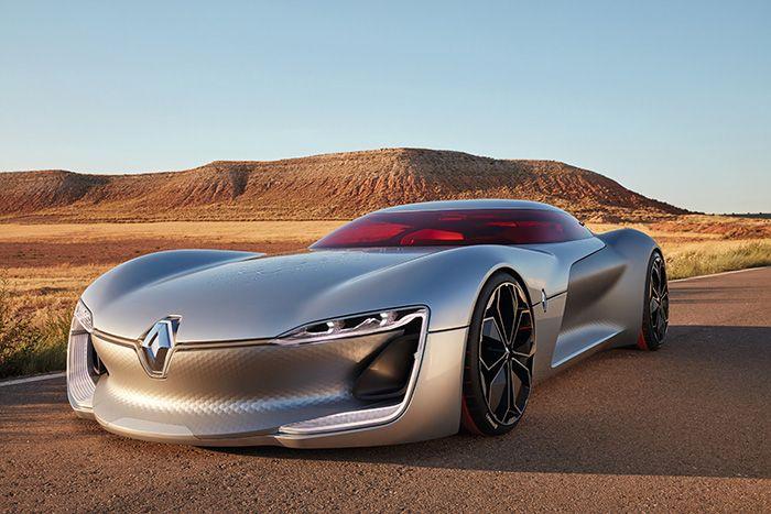 Renault Trezor, el deportivo GT eléctrico