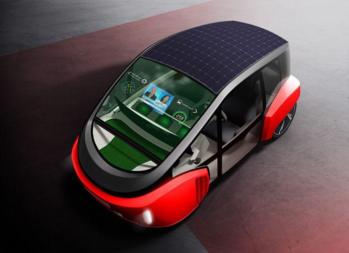 Rinspeed Oasis, nuevas ideas para transporte personal