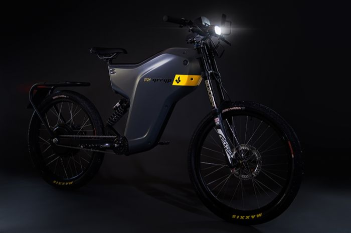 Greyp, the e-bicycle to be transformed into a motor bike