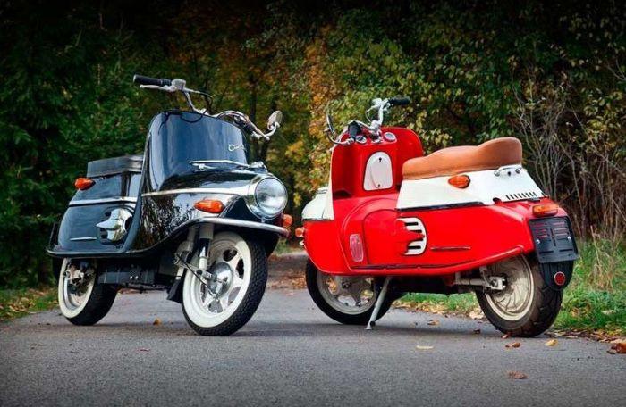 Renace Cezeta (CZ), motos ahora eléctricas de diseño retro