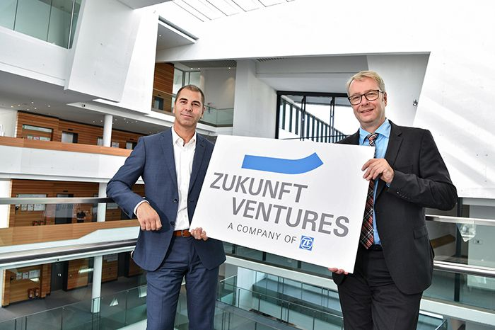 ZF helps start-ups which develop innovative technologies