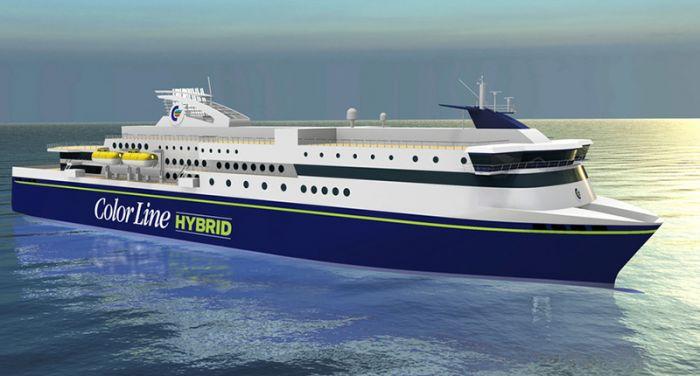 Nacerá el mayor ferry híbrido en Noruega