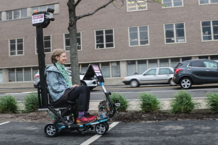 Driverless-vehicle for scooters