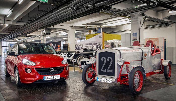 El Loryc español con componentes del Opel Adam