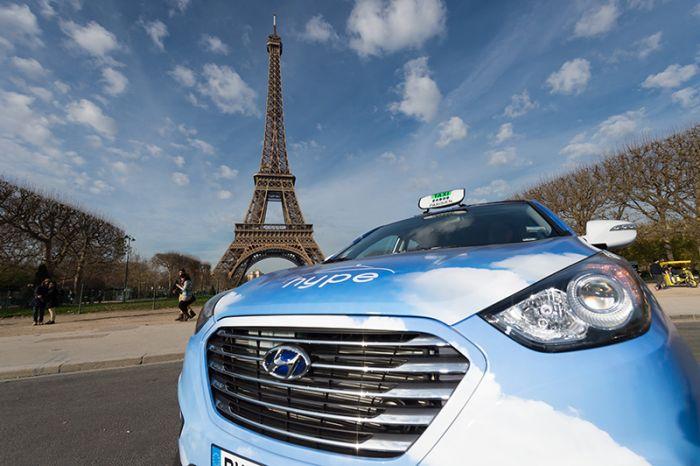 Hyundai ix35 Fuel Cell para París