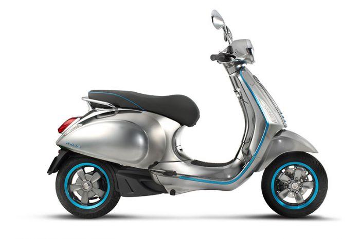 Piaggio Group presents electric Vespa