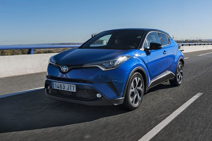 Toyota C-HR Full Hybrid disponible este mes