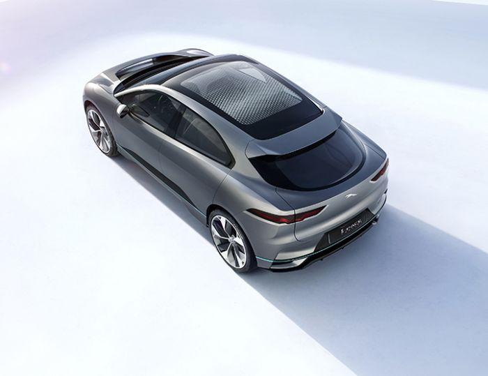 Jaguar revela su iPace Concept, totalmente eléctrico