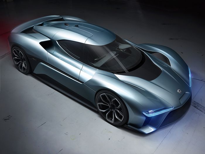 NextEV presents NIO, the fastest electric car