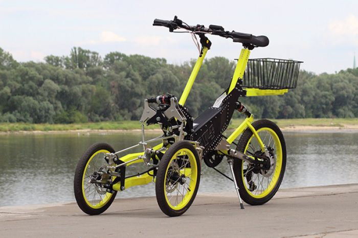EV4 Bike a new concept of tricycle