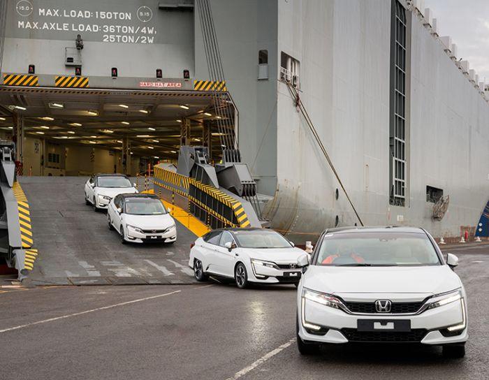 Honda Clarity de Hidrógeno llega a Europa