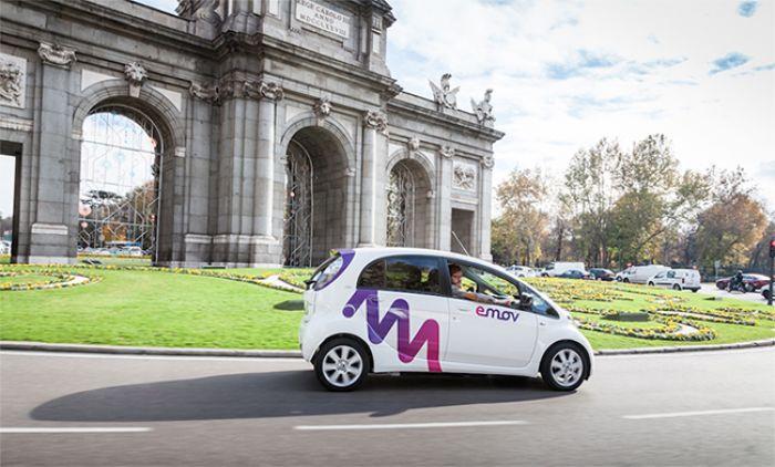 Llega Emov Madrid, nuevo servicio de car sharing para Madrid
