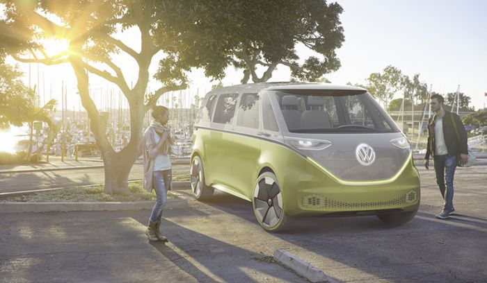 VW I.D. Buzz electric MPV, the microbus of the new age