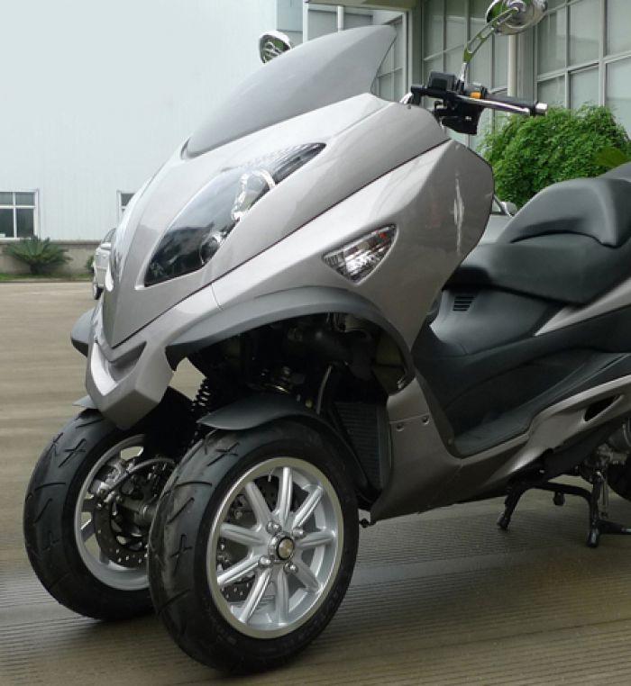 American ZEV presenta su triciclo LRC