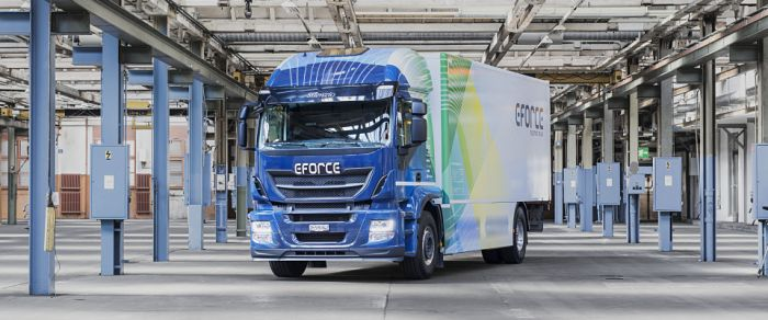E-Force electric truck with more power