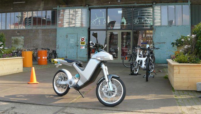 Sunbike, diseñado en Londres, fabricado en Corea