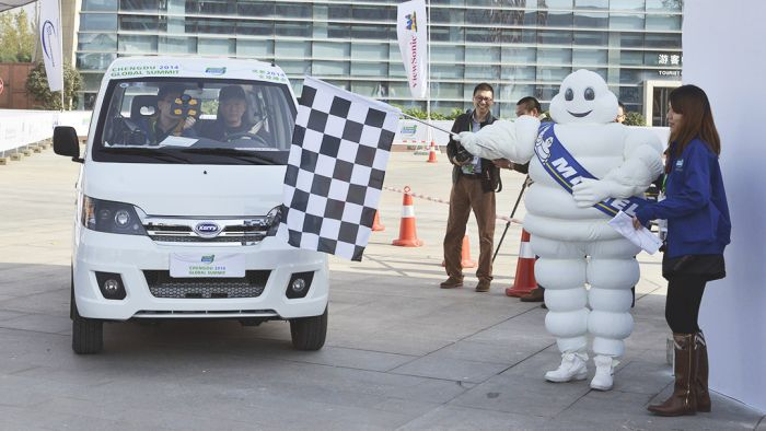 Michelin Challenge Bibendum crea Movin`on