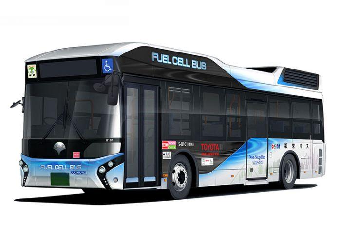 Toyota entrega autobus de hidrógeno