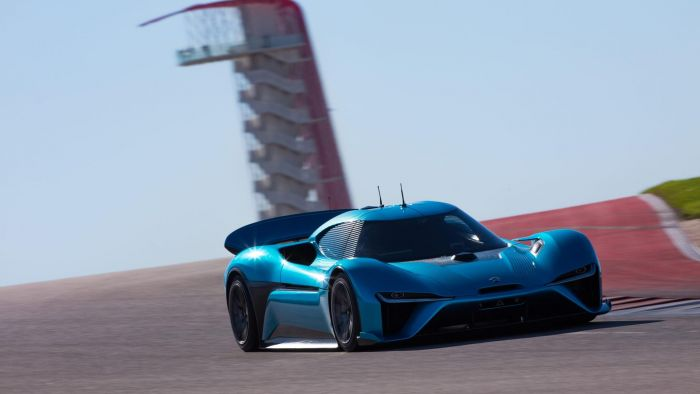 NIO, electric autonomous super racer