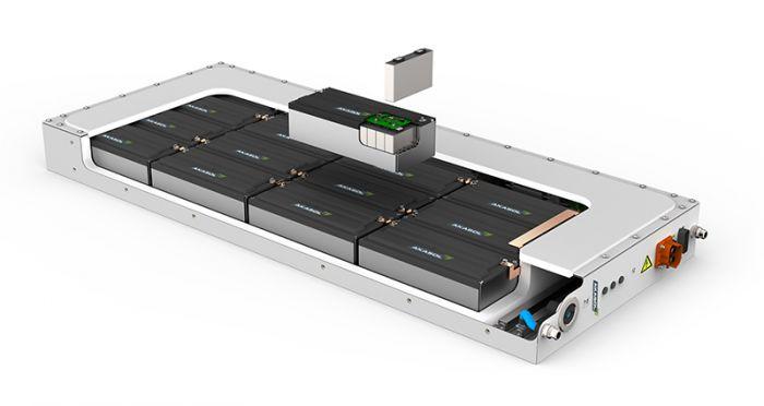 Baterías Akasol en autobuses eléctricos