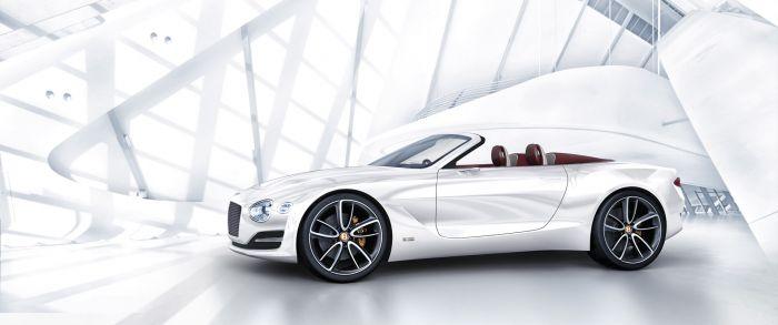 Bentley EXP 12 Speed 62 - lujo eléctrico