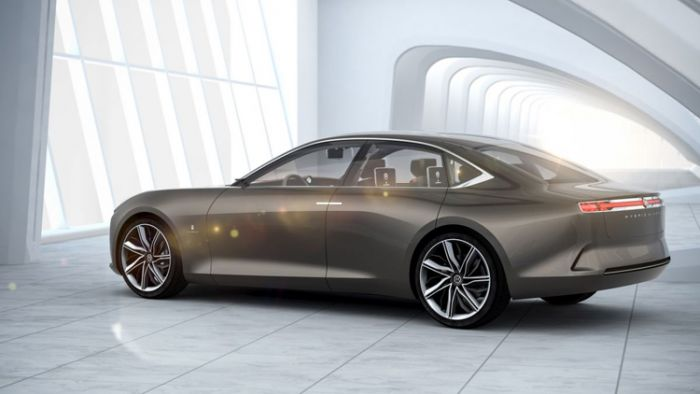 Hybrid Kinetic Electric Sedan from Pininfarina