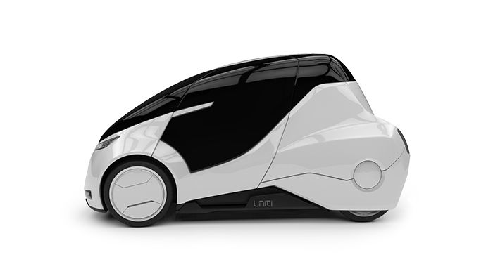 Uniti from Sweden, a new E-Mobility concept