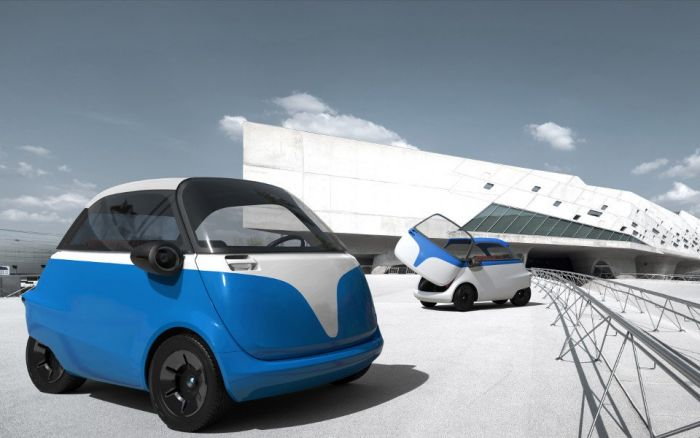 The Microlino will be built by Tazzari in Italy