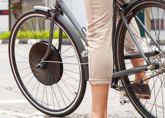 UrbanX - la nueva rueda eléctrica para bicicletas