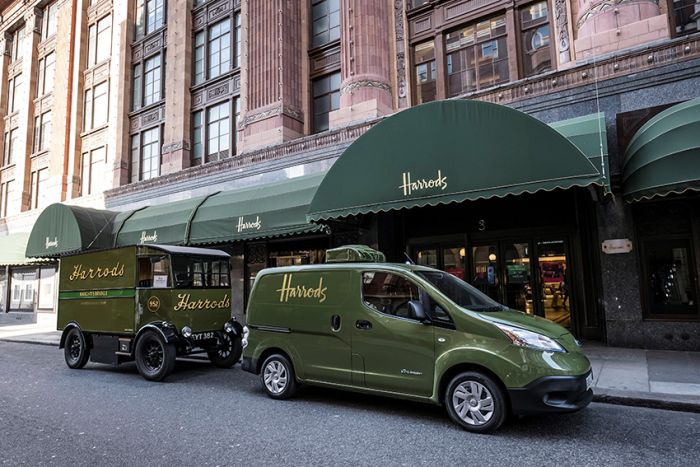 Harrods adds Nissan electric van