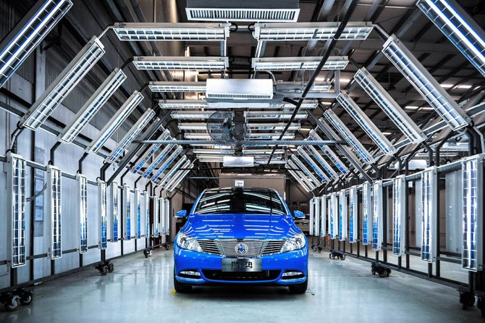 China: 43% of worldwide electric car production