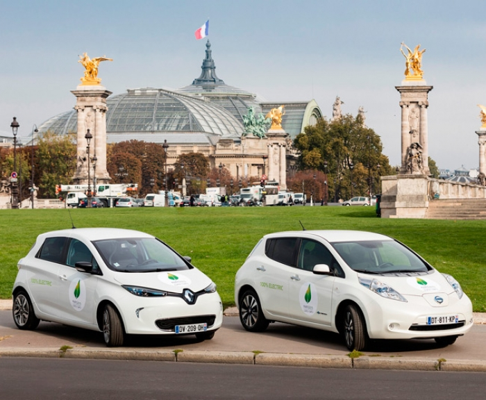 Renault-Nissan provide 200 EV to climate conference