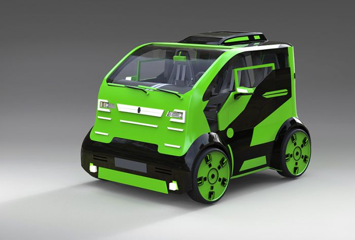 Mirrow Provocator, a new city car concept from Russia