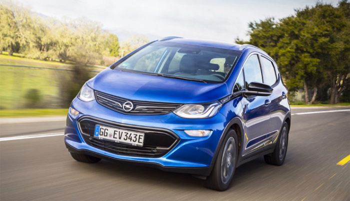 The Opel (Vauxhall) Ampera-e will come in May
