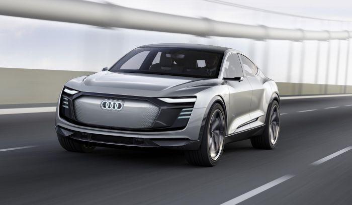 Audi E-Tron Sportback Concept en Shanghai