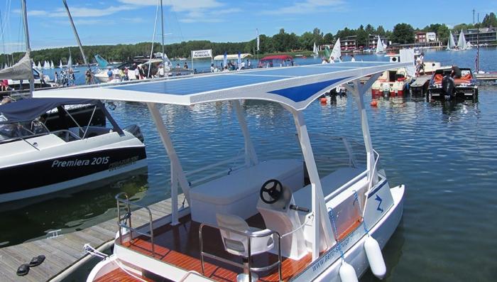 Salmo Solar -powered catamaran from Poland
