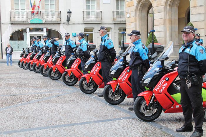 BMW C Evolution Scooter for the police