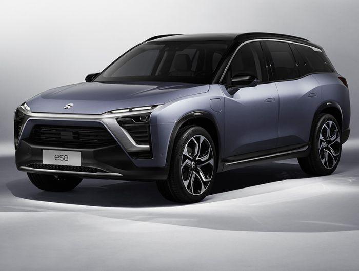 NIO presents ES8 electric SUV
