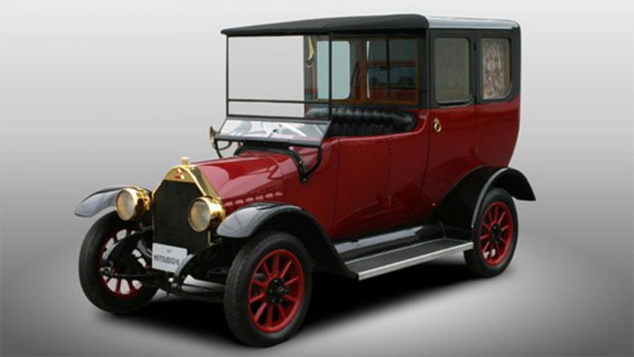 Mitsubishi A from 1917 remake with hybrid technology