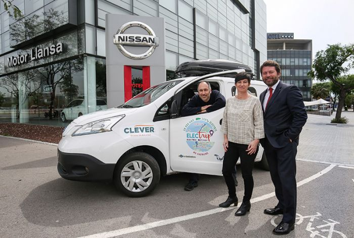 The Nissan e-NV200 on European Tour
