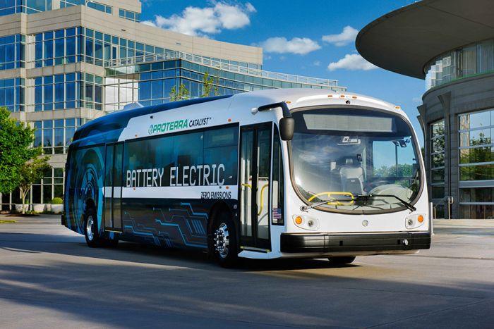 Proterra autobús eléctrico autónomo