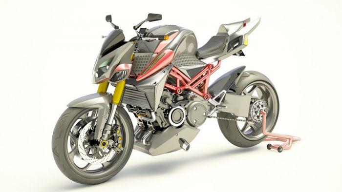 Furion, la fusión en una moto