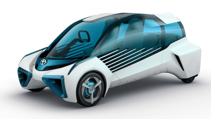 Toyota presents FCV Plus, a small Fuel Cell car