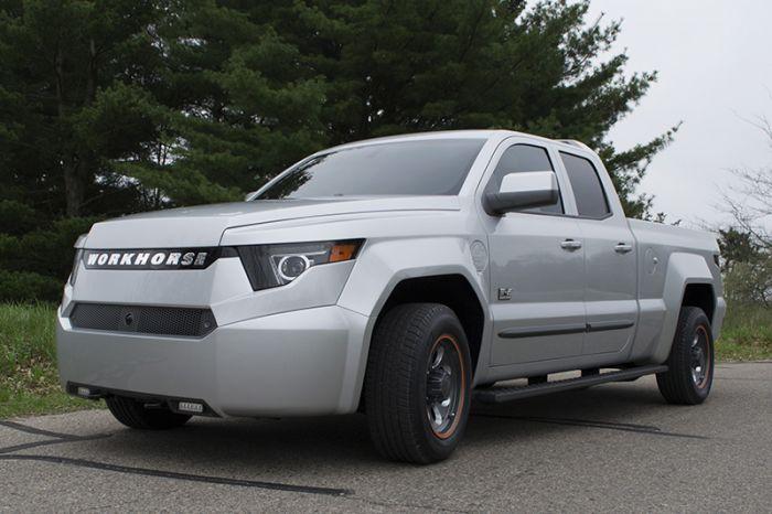 Workhorse presenta un pick-up eléctrico